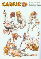 Carrie's  Judo Class by haventon