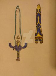 Mobian Master Sword (Old Reference) by AlexandNintendo2
