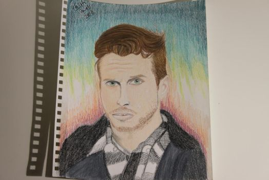 My Drawing of Mark Foster from Foster the People by WolfzArt13
