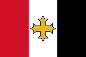 Flag for the Coptic Christians of Egypt by Linumhortulanus