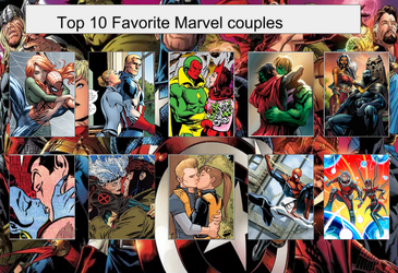 Tito's Top 10 Favorite Marvel Couples by Tito-Mosquito