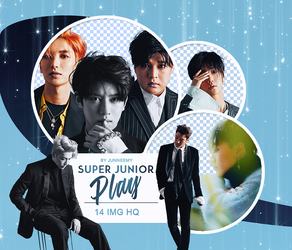 [SUPER JUNIOR - PLAY] PNG PACK #14 by Junneemy