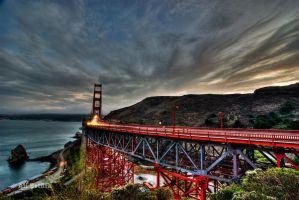 Golden Gate, San Francisco by alierturk