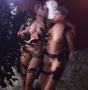 Sheva And Jill by Rastifan