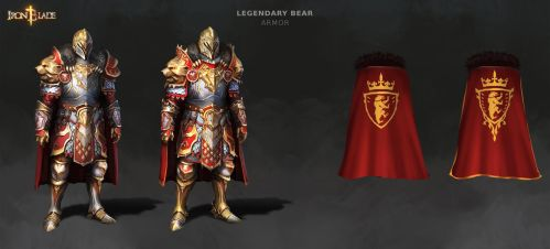Legendary Bear Concept by Darkcloud013
