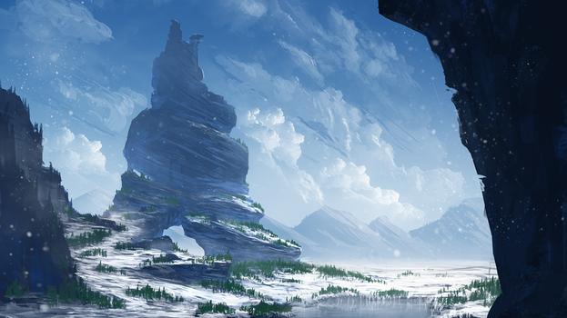 Winter by TomPrante