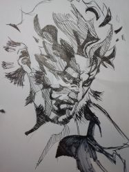 MGS 2 Solid Snake by FruitPunchSamurai13