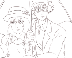 The Wind Rises-lineart by Yoseph13