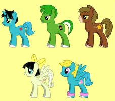 MLP - Oggy and his best pals by s233220