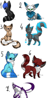 Animals adopt - OPEN by Tami239