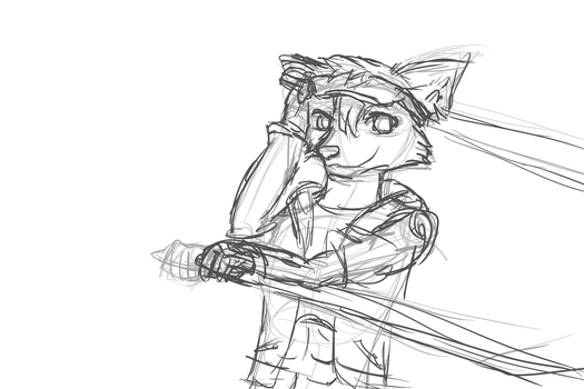 Clyde (WIP) by FrostyWolfter