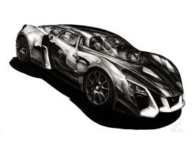 Marussia B2 - The Dark Tsar by Medvezh