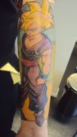 Gohan Tattoo Finished 2 by hulfie