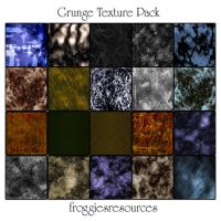 Grunge Texture Pack by froggiesresources