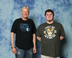 Meeting Bruce Boxleitner by Tyler3967