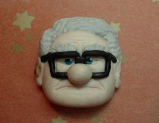 Carl (UP) marzipan by Marika-Spijkers
