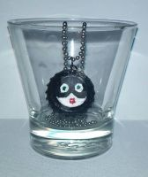 Catwoman Modern Mask Necklace by wolf-girl87