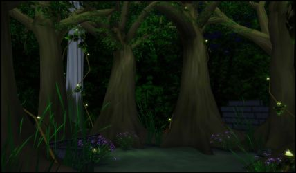 Enchanted Forest [XPS] by deexie