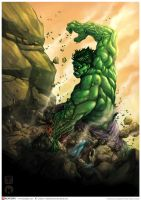 Hulk Colored by Keatopia