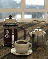 3D French Press... by otas32 by 3D-Asuarus