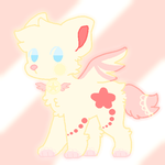 ( OPEN ) Magical cat adopt 50pts by Pastelwingz