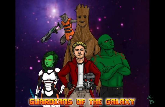Guardians of the Galaxy by greymoonx