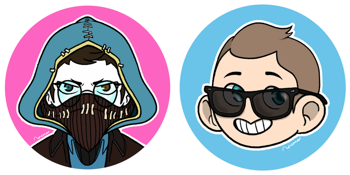 Chibi icons | TF2 by strahldelune