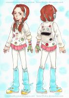 Character Design |DECORA GIRL! (1/4) OC by Lucia-95RduS