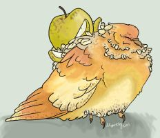 Apple Crumble by Maresy