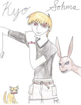Kyo Sohma by Miku by Lily-the-Vocaloid