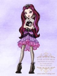Ever After High Character Illustration Raven by CQcat
