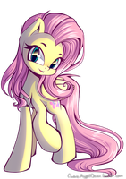 Cute Fluttershy by ChaosAngelDesu