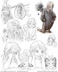 Elerus Sketchpage Commission 23 by Saimain