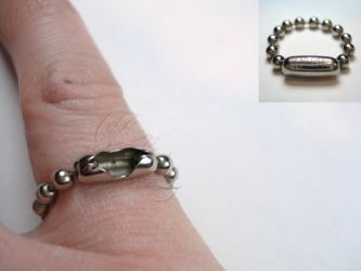 ring a day 88...bead or ball by noformdesign