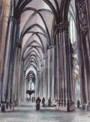 Cologne Cathedral by Theophilia