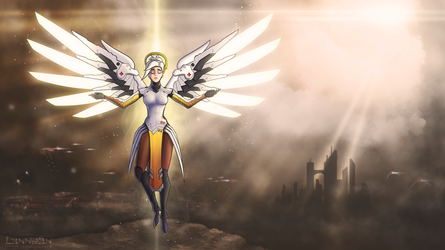 The Angel of Mercy by Lannean