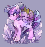 Crystal Empire Twilight by Mi-eau