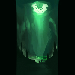 Daily 30 Minute Speed Painting - The Sinister Cave by GenelJumalon