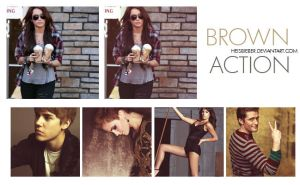 Brown Action by Heisbieber