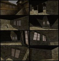 House with stairs inside Part4 by DennisH2010