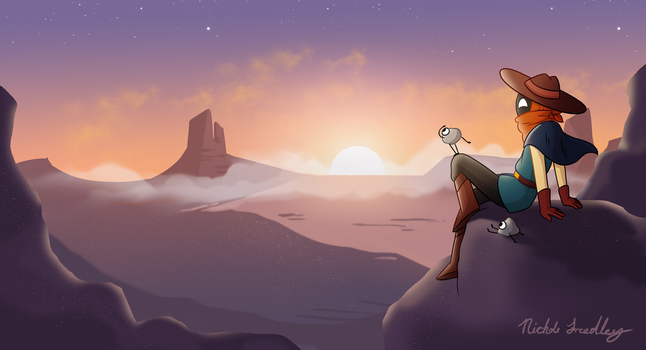 Nomad of Nowhere by AlaxanderBind
