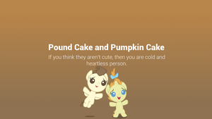 Pound and Pumpkin Minimal Wallpaper by postcactus