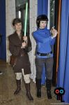 Spock and Jedi Tarma at Cifimad 2017 - II by ArwendeLuhtiene