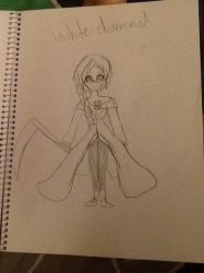 SU Gemsona White Diamond by heartofthewarrior13