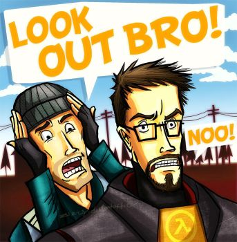 LOOK OUT BRO by zizzy