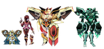Mecha Adoptables [CLOSED] by Blissful-Rouzes