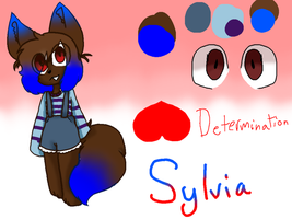 UnderTale OC Sylvia (re-upload) by GucciKitty27