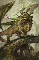 2015 Zodiac Dragons - Taurus by The-SixthLeafClover