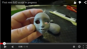 Mini BJD progress by Ravica