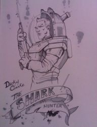 Dicky Clarke- Shark hunter by mattayodemeyero